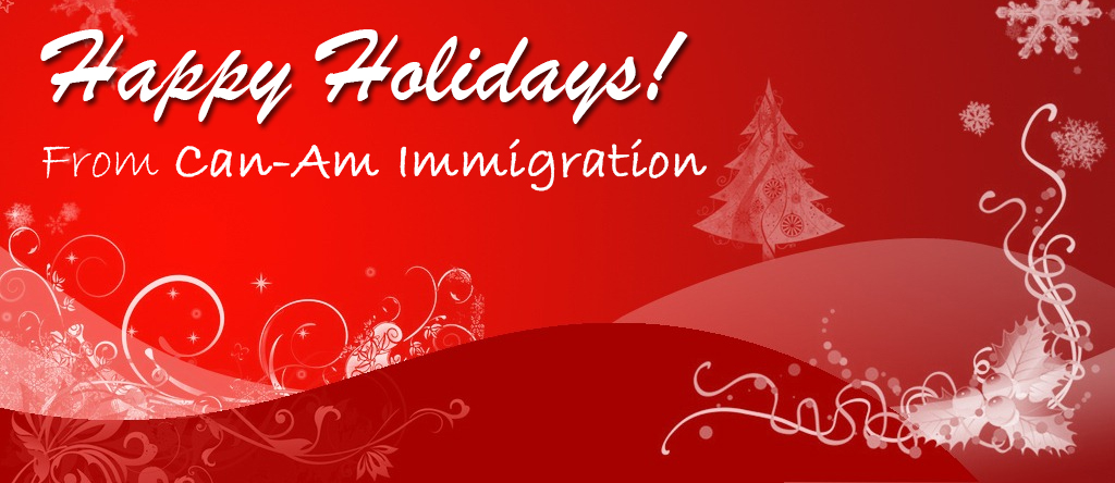 Happy holidays a happy new year can am immigration happy holidays from canam m4hsunfo